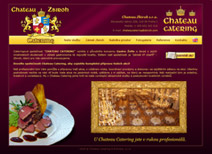 Chateau Zbiroh catering - design a realizace